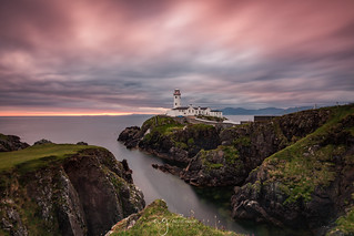 Crazy fab light this morning At Fanad Lighthouse