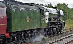 The Waverley Hellifield North Yorkshire 23rd July 2017 (loose_grip_99) Tags: hellifield north yorkshire sc england uk railway railroad rail midland train steam engine locomotive britishrailways br lner gresley a3 462 pacific 60103 flyingscotsman preservation transportation gassteam uksteam trains railways mainline july 2017