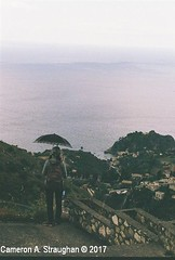 CNV00005s (Cameron A. Straughan) Tags: travel tourism eccentric quirky surreal odd architecture street history angles lines culture 35mm exposures film developing 400 iso real photography traditional photographs fuji stx2 camera processing tamron zoom lens 35 mm manual colour color photos classic old school ilford taormina hill mountains sicily mount etna active volcano teatro antico di ancient greco¬roman godfather francis ford coppola italy