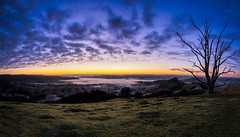 Foggy valley (RissaJT_23) Tags: strathcreek sunrise landscape tree clouds canon6d canon canoneos6d canon1740mm country australianlandscape australiancountry cold fog foggy valley valleys hills rollinghills shireofmurrindindi