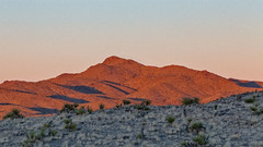 Red Mountain. (PebblePicJay) Tags: mojave mojavenationalpreserve red desert california south america flickr wow canon6d canon park mountain sunset cone southwest dusk prime