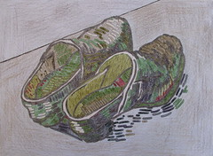 Une paire de sabots en cuir - Van Gogh - 1889_0 (Luc II) Tags: vangogh sabots