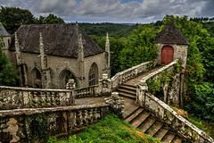 Chapelle Sainte Barbe (Anaëlle T) Tags: chapelle sainte barbe church france bretagne landscape hdr le faouët canon7d lightroom photomatix stairs