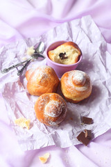 Parisian Brioche Buns with Chocolate (Мiuda) Tags: bakerysweets baking bakingbread bakingcake bakingforms bread breakfast brioche briochebread briochebun bun cake chocolate chocolatedrops classic colored colorful confectionery delicious filling food france french frenchfood gourmet homemade icingsugar paris parisian pastel pastry patisserie powdered powderedsugar purple snack sugar sweet sweetbaking sweetfood tasty vanilla foodphotography foodphoto foodblogger foodblog foodphotographer