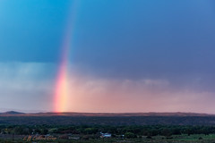 Rainbow (inlightful) Tags: sunset sunrise morning evening dusk dawn sky clouds weather outdoors nature rural southwest socorrocounty newmexico rainbow