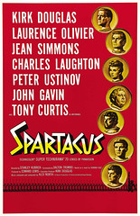 Spartacus (1960, USA) - 04 (kocojim) Tags: peterustinov tonycurtis johngavin kirkdouglas charleslaughton motionpicture film jeansimmons publishing poster laurenceolivier stanleykubrick kocojim illustration advertising movie movieposter