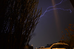 DSC_7613 (georgerocheleau) Tags: mesa arizona storm clouds rain lightning therebeastormabrewin