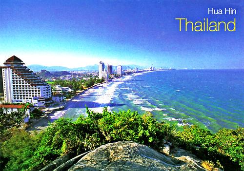 View From Ta Kiap Hill - Hua Hin