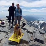 Zuly and Ingrid and Bella at the summit (10,785 ft) thumbnail