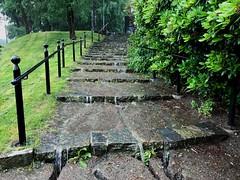 Mycket regn (matte111) Tags: sten trappa reng