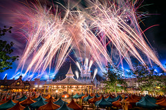 Magic Kingdom - Experiencing Happy (Jeff Krause Photography) Tags: after castle charming cinderella disney ever fireworks happily house kingdom magic park pinocchio prince show village wdw carousel theme orlando florida unitedstates us