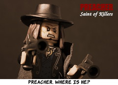 Preacher. Where is he? (y20frank) Tags: lego preacher saint killers tvseries film tv comic