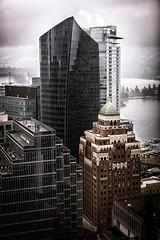 Vancouver BC - Exchange Tower (6) (doublevision_photography) Tags: vancouver vancouvercity vancouverrealestate vancouverbc vancouverskyline vancity vancouvercanada jasocrane constructioncrane vancouverconstruction roofing vancouverroofing contruction towercranephotography flyingtables tableflying