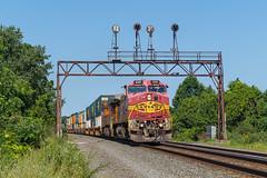 CSX Q004 Lake City, PA (Nolan Majcher) Tags: bnsf 656 santa fe csx q004 lake city pa pennsylvania