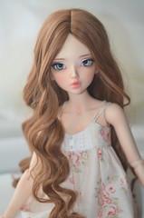Chloe -Adele (dimitria384) Tags: minifee chloe enchanted eyes bjd mnf doll alpaca wig fairyland tan toy sensei´s make up rakeru sensei