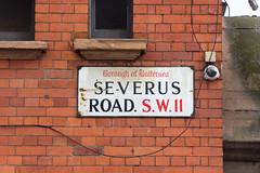 Severus Road SW11 (alistairh) Tags: boroughofbattersea fraktur serif severusroad sw11 alistairbhall londonstreetnameplates
