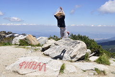 Parkour boy (Lee Carson) Tags: bulgaria borovets samokov mountain rila d90 nikon mrlee
