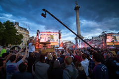 Kaiser Chiefs F1 Live London July 2017 (paulinuk99999 (really busy at present)) Tags: paulinuk99999 f1livelondon trafalgar square concert night london uk england kaiserchiefs pop rock group british tokina 1116mm