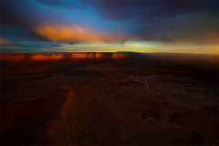 Final Light of Day (Jerry T Patterson) Tags: canyonlands moab moabutah archesnationalpark anp tours workshops photographyworkshop milkyway nightscape astrophotography