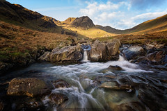 flow ( explore) (akh1981) Tags: landscape water walking cumbria rocks mountains sunrise wideangle nikon nisi manfrotto travel outdoors clouds