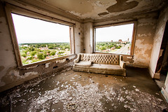 Sit on This Couch and Tell Me That You Still Love Me (Thomas Hawk) Tags: artdeco charlesnoble detroit leeplaza leeplazaapartments leeplazahotels michigan usa unitedstates unitedstatesofamerica abandoned fav10 fav25