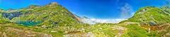 Lac d'Isabe, vallée d'Ossau (Gaëtan Portenart) Tags: 360° 5d3 altitude ascenssion atlantiques bleu canon cascade cirque dénivelé eau gaëtan isabe lac manfrotto marche merdenuage montagne olive ossau panorama pic portenart pyrénées randonnée sport tamron vert été top25naturesbeauty paysage