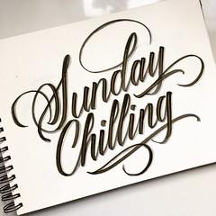 Sunday chilling. #Mood (gianlucanobile) Tags: creativewriting loveletters moderncalligraphy calligraphy type lettering brushpen brushpenlettering
