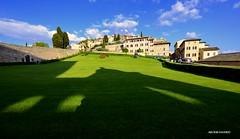 Assisi Pg (Arcieri Saverio) Tags: assisi italy perugia nikon umbria sanfrancesco cultura green architecture sigma1020 travel traveling viaggiare summer blue sky borghi paesi