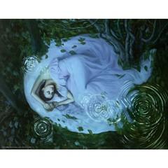 Dream Ripple, oil on canvas 71x55 (Dorian Vallejo) Tags: art fine drawing figure mixed media drawings oil painting dorian vallejo