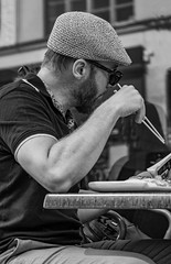 Chopsticks...    Stockholm / Sweden (mikeback-streetphotography) Tags: stockholm streetphotographers streetphotography sweden street streetart streetarteverywhere streetartistry streetlife streetphoto streetstyle urbanwalls gatufotografi guy photography blackandwhitephotography photographer blackandwhite black bnw blackwhite beautiful bw beard urban urbanart monochrome mono monochromatic people