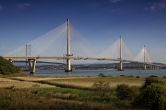 New Forth Crossing (Photography by Peter Stanford) Tags: forth love romance romantic river fife scotland bridge crossing firth lovers