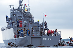 170719-N-ON977-0006 (U.S. Pacific Fleet) Tags: eod eodmu5 jmsdf rok diving japan mcm ctf75 fccp mc2alfredcoffield mutsubay jp