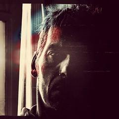Night Train [life is a movie]. 2nd version (Gr⊙f: ⊙f the p⊙p) Tags: portrait self train selfie mobileapp pixlr