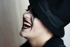 Ossimori (Chiara Mangiaracina) Tags: girl portrait portraiture ritratto smile laugh risate beauty beautiful woman makeup mask carnevale stilllife cry primopiano pierrot art arte