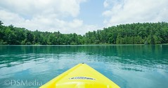 Peaceful Day (davidaschultz63) Tags: kayaking kayak sony a6000 plotagraph landscape lake water land scape clouds rolling nature natural blue tree clear