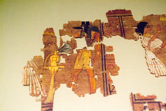 Dress (Stray Toaster) Tags: cambridge fitzwilliam museum egyptian book dead papyrus ramose