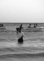 (ManuelAngel78) Tags: cádiz andalucía españa spain playa beach sea mar océano blancoynegro blackandwhite zaharadelosatunes