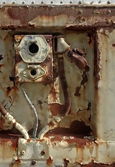(C. Neil Scott) Tags: columbiasc southcarolina usc universityofsouthcarolina mainstreet truck rust metal decay trailer