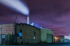 overnight contaminants (pbo31) Tags: bayarea california nikon d810 color july 2017 summer boury pbo31 city urban oakland industry smoke eastbay alamedacounty purple alameda concrete burn