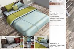 Sway's [Damien] Bed Set - PG| Uber (Sway Dench / Sway's) Tags: uber sways bed bedroom sleep cozy wood succulent lamp art sl virtual
