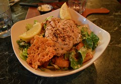 Grilled Chicken Caesar Salad .... The Old Spaghetti Factory .... 54 The Esplanade .... Toronto, Ontario (Greg's Southern Ontario (catching Up Slowly)) Tags: chickencaesarsalad salad theoldspaghettifactory foodphotography