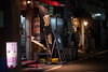 Get watered - Nighttime in Shimbashi JRC 20170615 (Rick Cogley) Tags: 2017 cogley fujifilmxpro2 50mm 1125sec iso1600 expcomp07 whitebalanceauto noflash programmodemanual camerasnffdt23469342593530393431170215701010119db2 firmwaredigitalcameraxpro2ver310 night walk nipponkogakujapan nikkorhc12f5cml39ltm lenssn728258 pm thursday june minatoku shimbashi tokyo japan jp