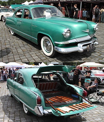 Traveler (Schwanzus_Longus) Tags: street mag show hannover german germany us usa america american old classic vintage car vehicle sedan saloon kaiser traveler deluxe