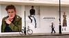 Going for a Smoke (stevedexteruk) Tags: marylebone london uk 2017 worker bhs billboard fashion advertising hardhat bike cycle bicycle johnprincesstreet street reserved