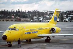 N9350 Hughes Airwest DC-9-15F at KSEA (GeorgeM757) Tags: n9350 n199us n567pc n8910 hughesairwest usajet continental southern dc915 ksea seatac mcdonnelldouglas aircraft alltypesoftransport airplane aviation airport georgem757