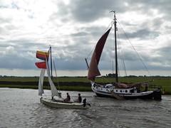 German confusion, sailing Jeltesleat (Alta alatis patent) Tags: jeltesleat sailing confusion upsidedown flag valk ninive