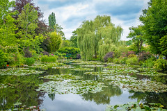 Monet Garden in Giverny, France (alex_shim) Tags: monet impressionism gardens giverny france nature reflection fuji fujifilm xt2