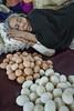 India.3-31 (Trev Thompson) Tags: asleep business commerce culture eggs food foodvendor imphal india indian manipur marketstall markettrader maturewoman people portrait shopkeeper sleeping