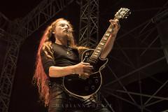Abbath (mariannabenze) Tags: abb abbath black blackmetal guitarplayer longhair longhairedboy redhead lespaul guitar stagephoto conce concert concertphotographer concertphoto