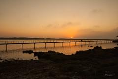 Esposende Sunset (pauloruimarques) Tags: sunset esposende braga portugal canon view vision landscape water bridge
